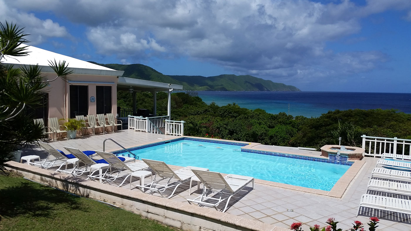 St Croix Villa Rentals, Oceanfront Cane Bay Vacation Home
