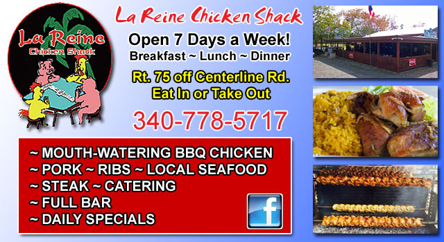 La Reine Chicken Shack for open pit BBQ.