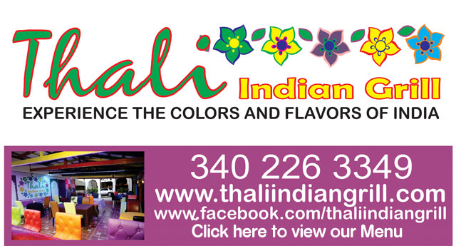Thali Indian Grill, Estate Peters Rest