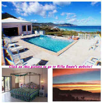 Villa Dawn, caribbean vacation rental villa