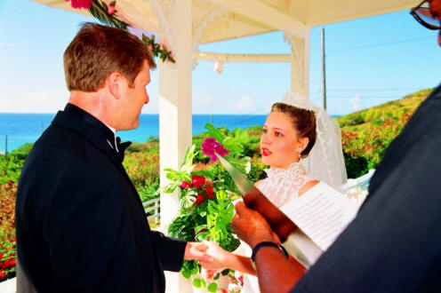 Wedding at Villa Dawn, St. Croix