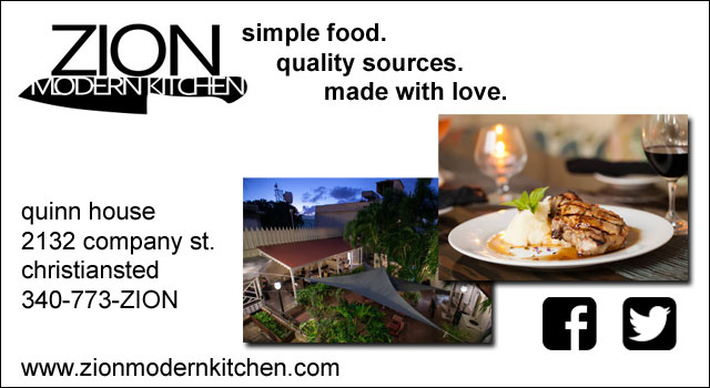 Zion Modern Kitchen in Christiansted